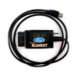 ELM327 USB с переключателем HS/MS шины (чип FTDI)